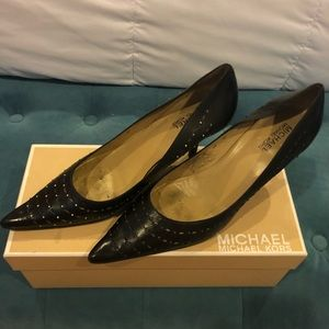Michael Kors stud pumps